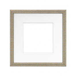 BELLA 8X8 ANTIQUE GOLD W 5X5 MAT