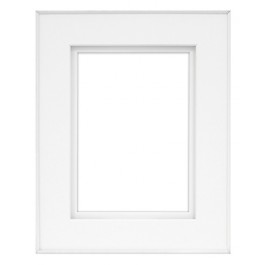 FINELINE 8X10 WHITE W 5X7 SHADOW MAT