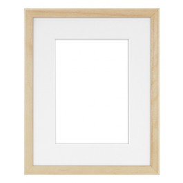 WOODWORKS 8X10 NATURAL W 5X7 MAT OPENING